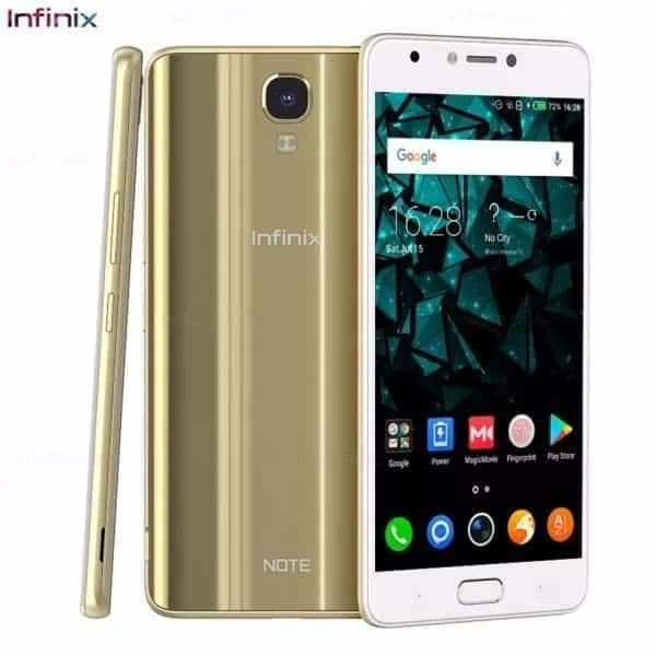 Infinix hot note 4