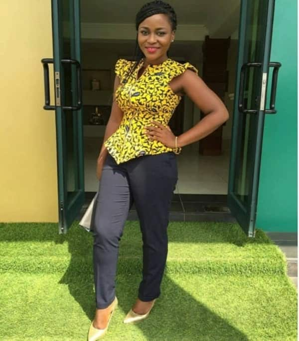 african print top styles