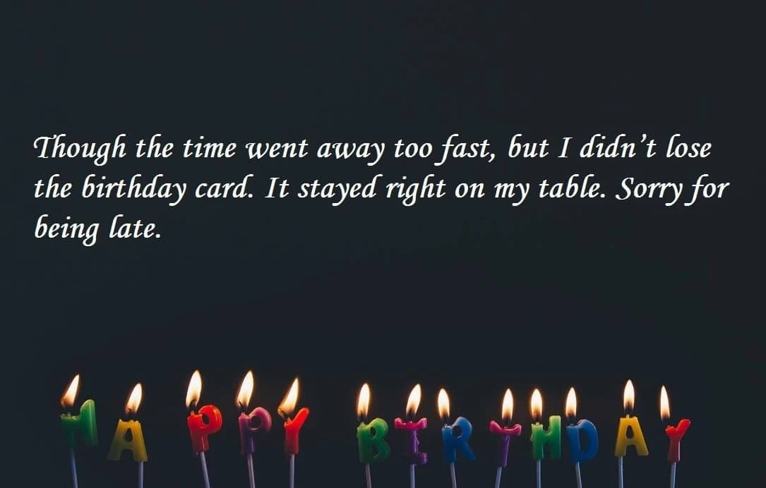 inspirational birthday messages, happy late birthday, belated birthday images