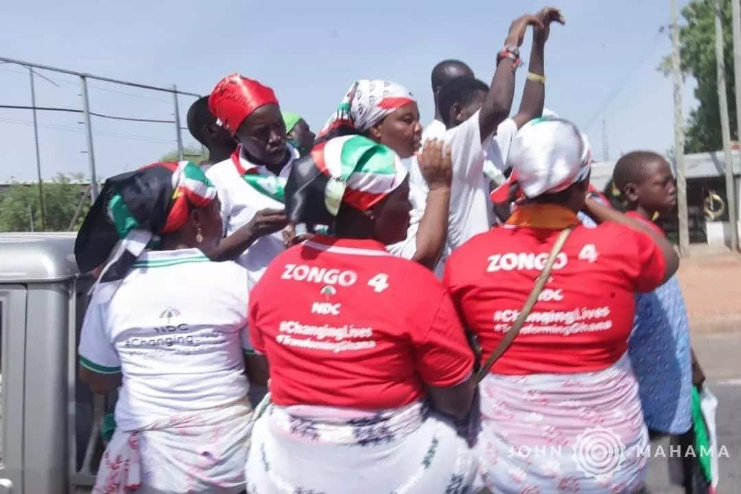 Mahama leads 9th NDC Unity Walk in Bolga