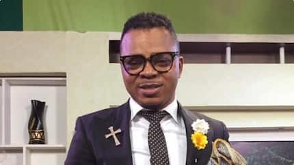Is your laptop in the Bible? - Obinim goes 'gaga' ; 'insults' bloggers in new video