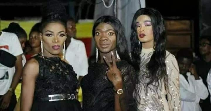 Gays and lesbians hold party in Accra