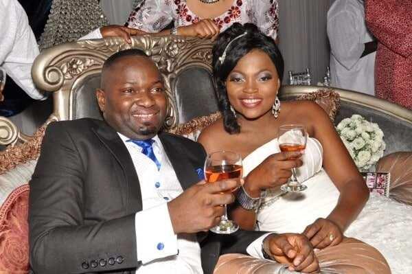 Funke Akindele and husband pictures and story
