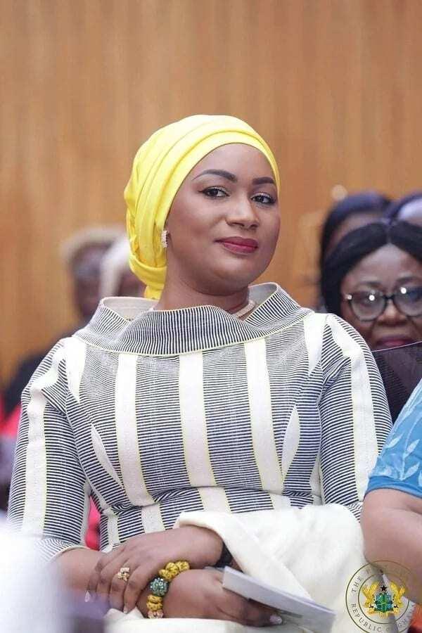 Samira Bawumia's dress for the 2018 SONA was very beautiful