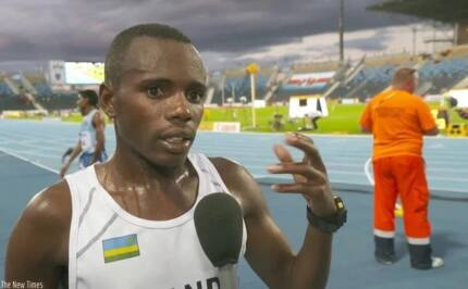 Funny Video: Watch how Rwandan athlete murdered the English language
