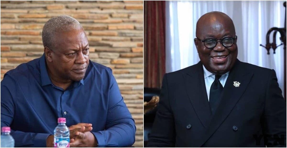 Akufo Addo and John Mahama
