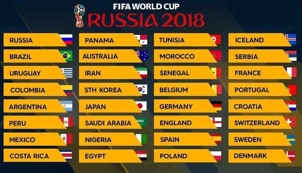 world cup qualifiers 2018 fixtures