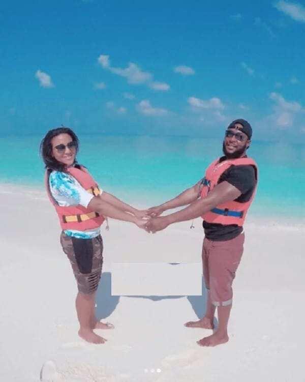 Photos of Fatima Dangote and Jamil Abubakar on honeymoon trip