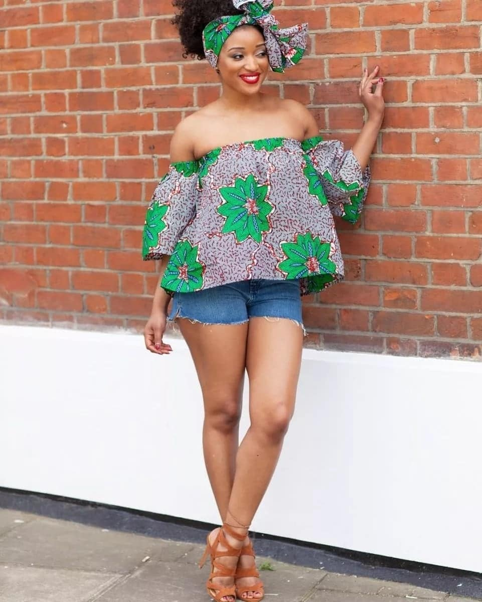 Images of African wear tops that are trending in 2019