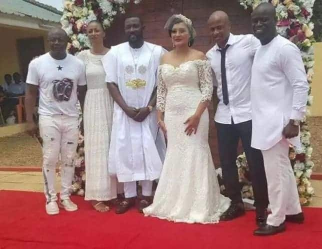 Andre and Jordan Ayew's manager gets married in beautiful ceremony