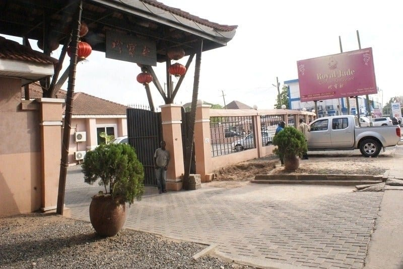 List of Chinese restaurants in Accra