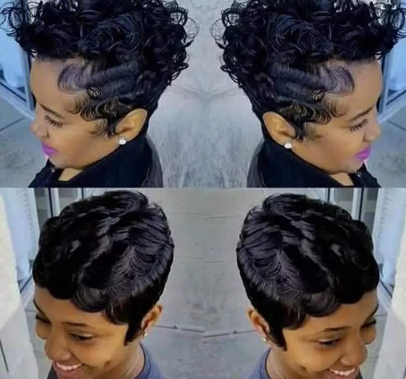How To Style Finger Waves Hairstyles Yen Com Gh