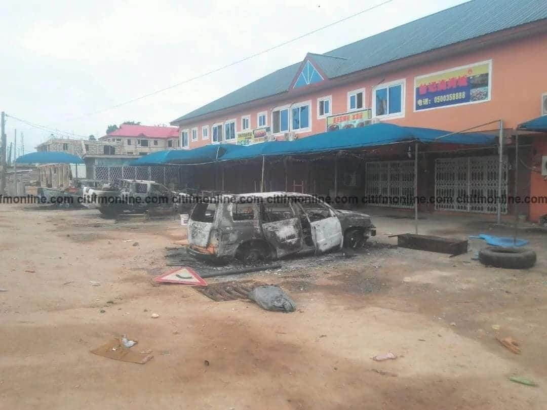 Police relocate Chinese nationals over unrest in Wassa Akropong