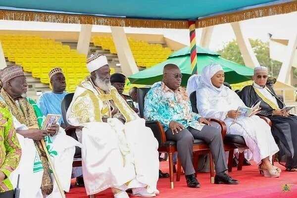 President Akufo-Addo celebrates Eid ul-Adha with Ghanaian Muslims (Photos)