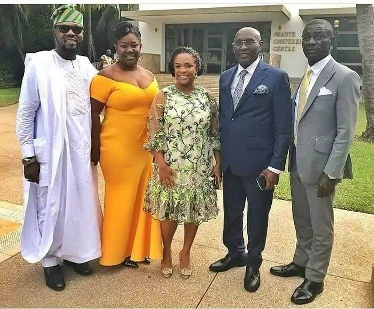 Celebs who were at Sarkodie and Tracy's wedding