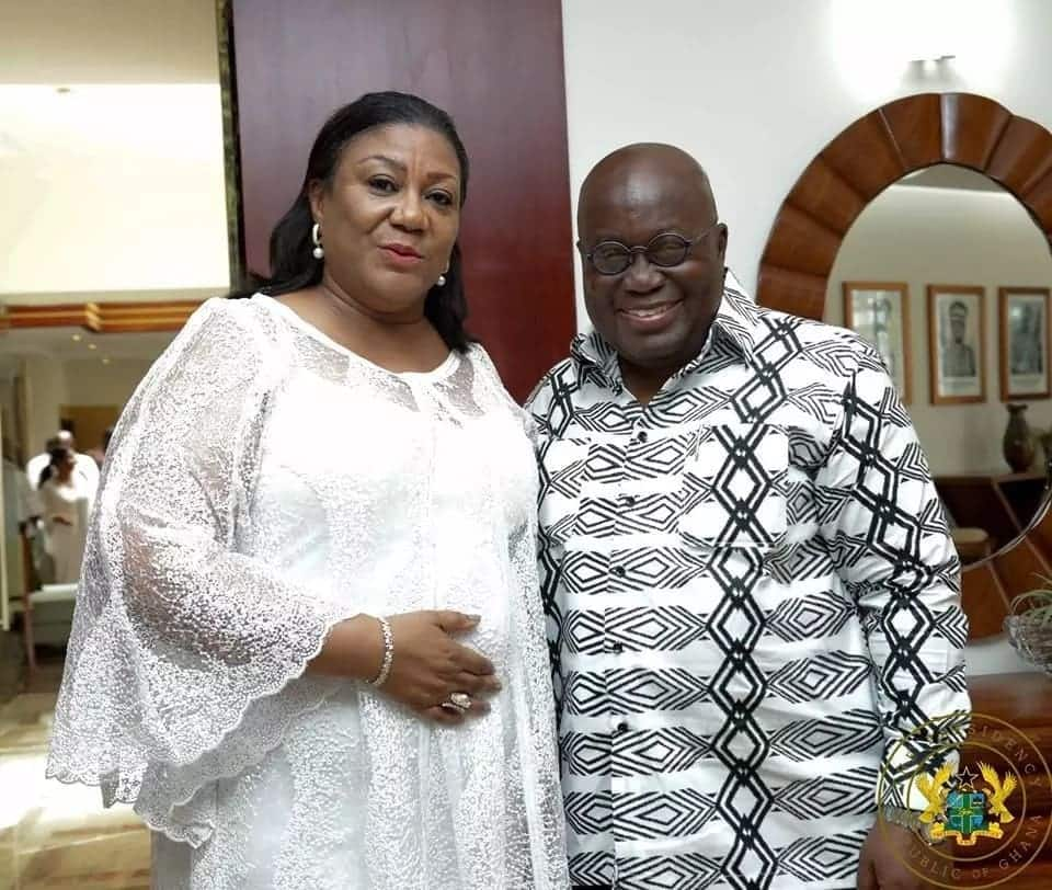 Akufo-Addo makes merry with top staff, family as he celebrates birthday