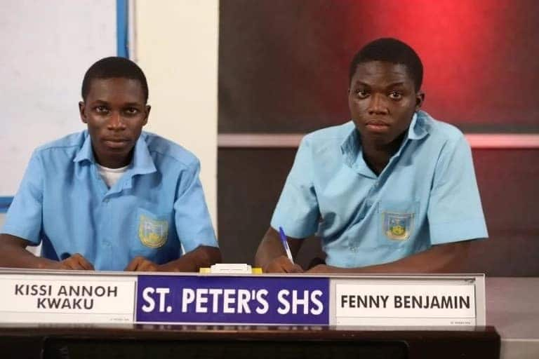 St. Peter's wins 2018 Edition of National Science and Maths Quiz