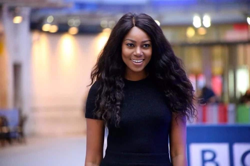 """Video: Yvonne Nelson jams to """"akwaaba"""" song"""