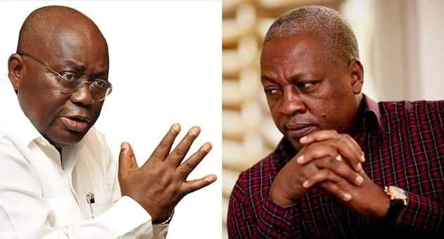 Akufo-Addo jibes Mahama; says he did not inherit a 'rich father'