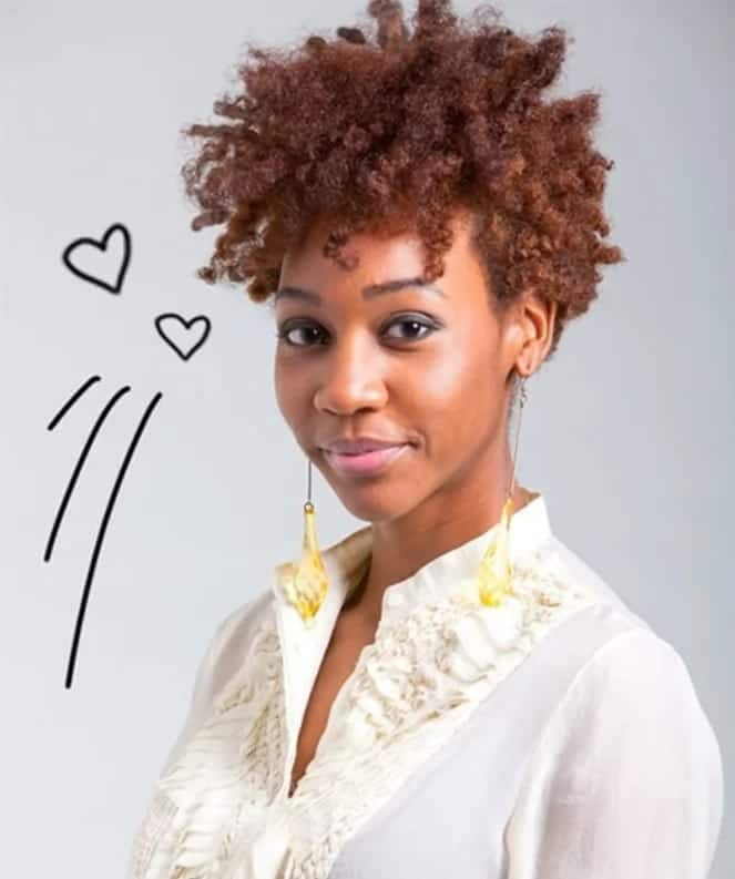 How To Style Short Natural Hair Photos Videos Yen