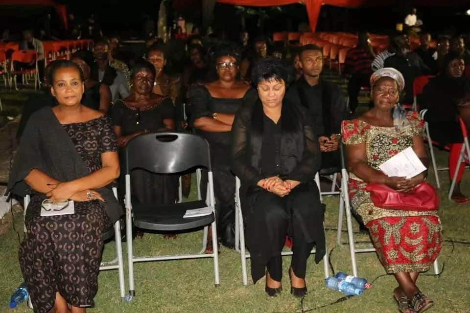 Tears flow for Major Mahama at vigil in Accra