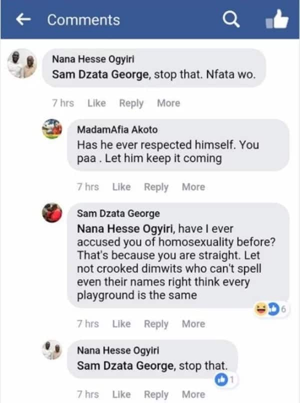 Sam George and Deputy MASLOC boss engage in unpleasant exchange of words on Facebook