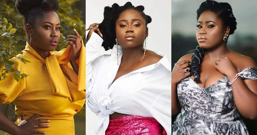 Lydia Forson marks mum's 69th b'day with beautiful house party; videos pop up