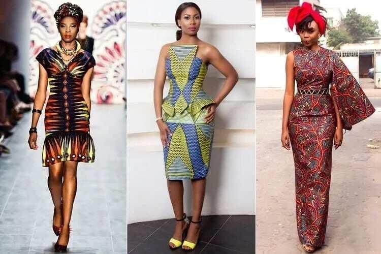 Modern African long dresses
