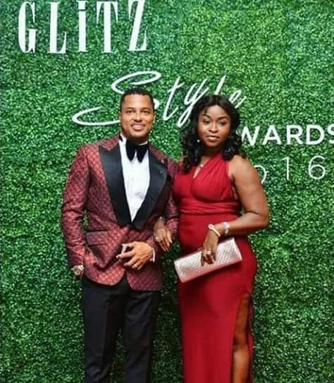 Van Vicker and wife steal show at Glitz Style Awards