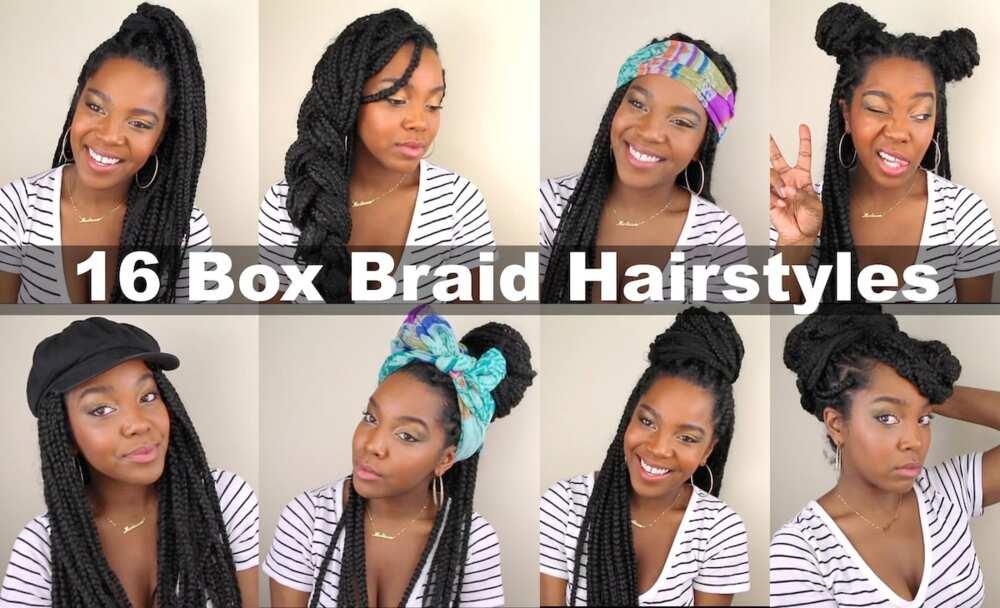 Best 30 Box Braids Hairstyles In Ghana 2019 Yen Com Gh