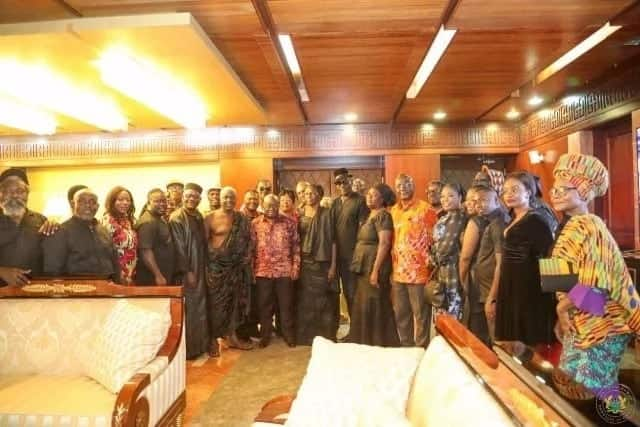 Paapa Yankson family gets support from Nana Addo