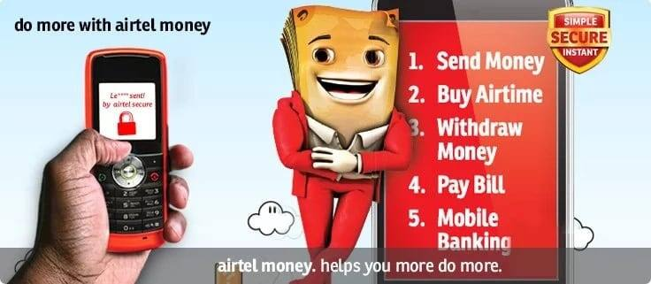 Airtel Ghana short codes