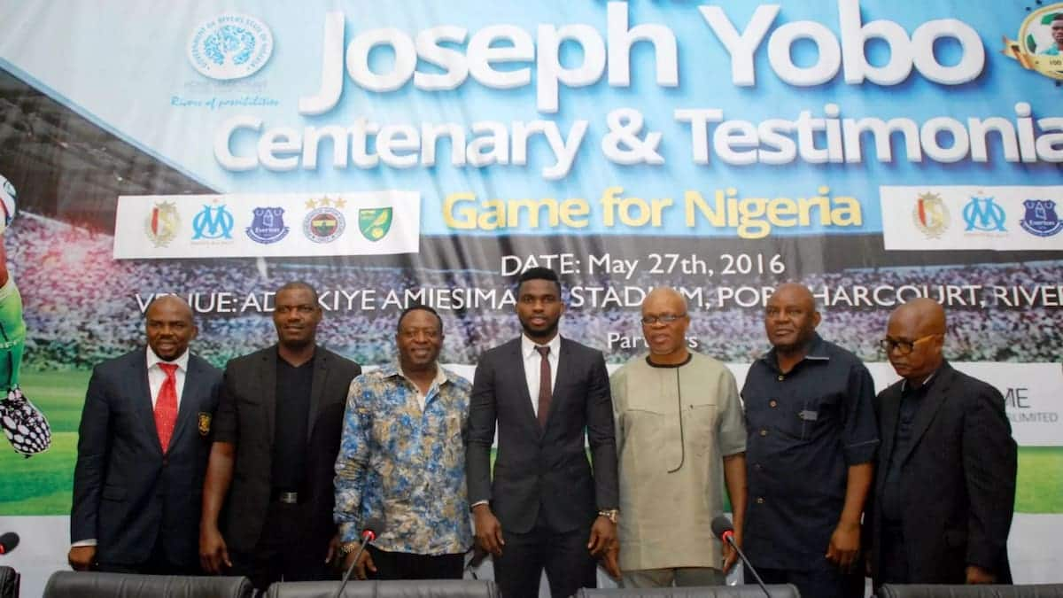 Star African players shows up for Yobo testimonial game