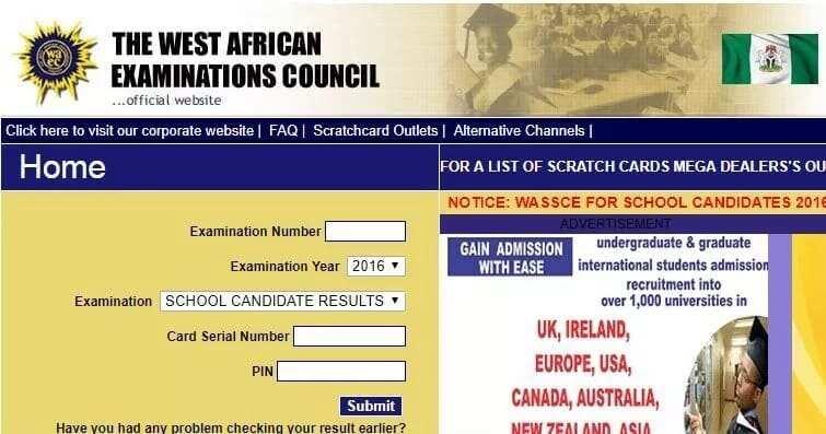 Technical examination unit result checker 2018