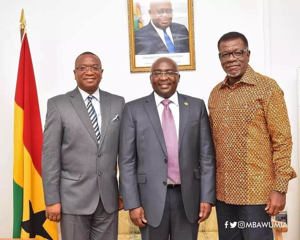 Bawumia discusses nation building with Pastor Otabil