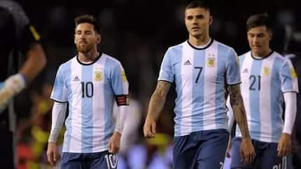 Official 2018 Argentina World Cup team.