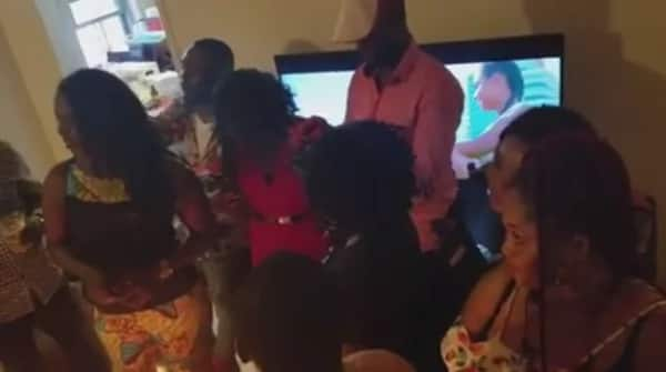Photos: Kwaku Manu chills with family in US