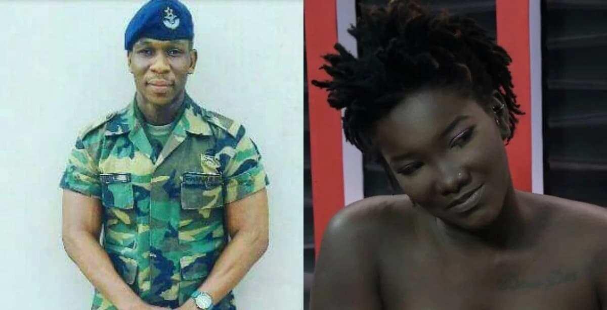 Lance Corporal Vondee Francis Atsu and Ebony