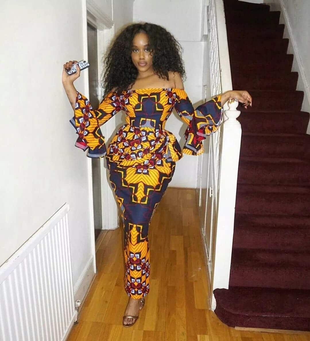 African print straight dress styles,beautiful African dresses Ghanaian African wear styles