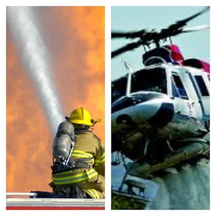 Ghana fire service is crying over a helicopter and YEN knows why
