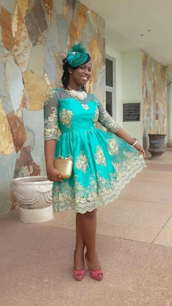 styles of dresses with lace