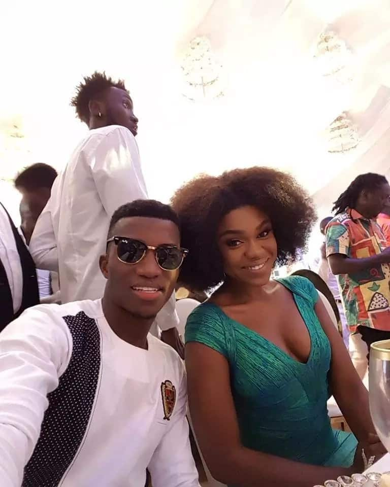 Photos: Here is your favourite celebrity dressed to Stonebwoy's wedding