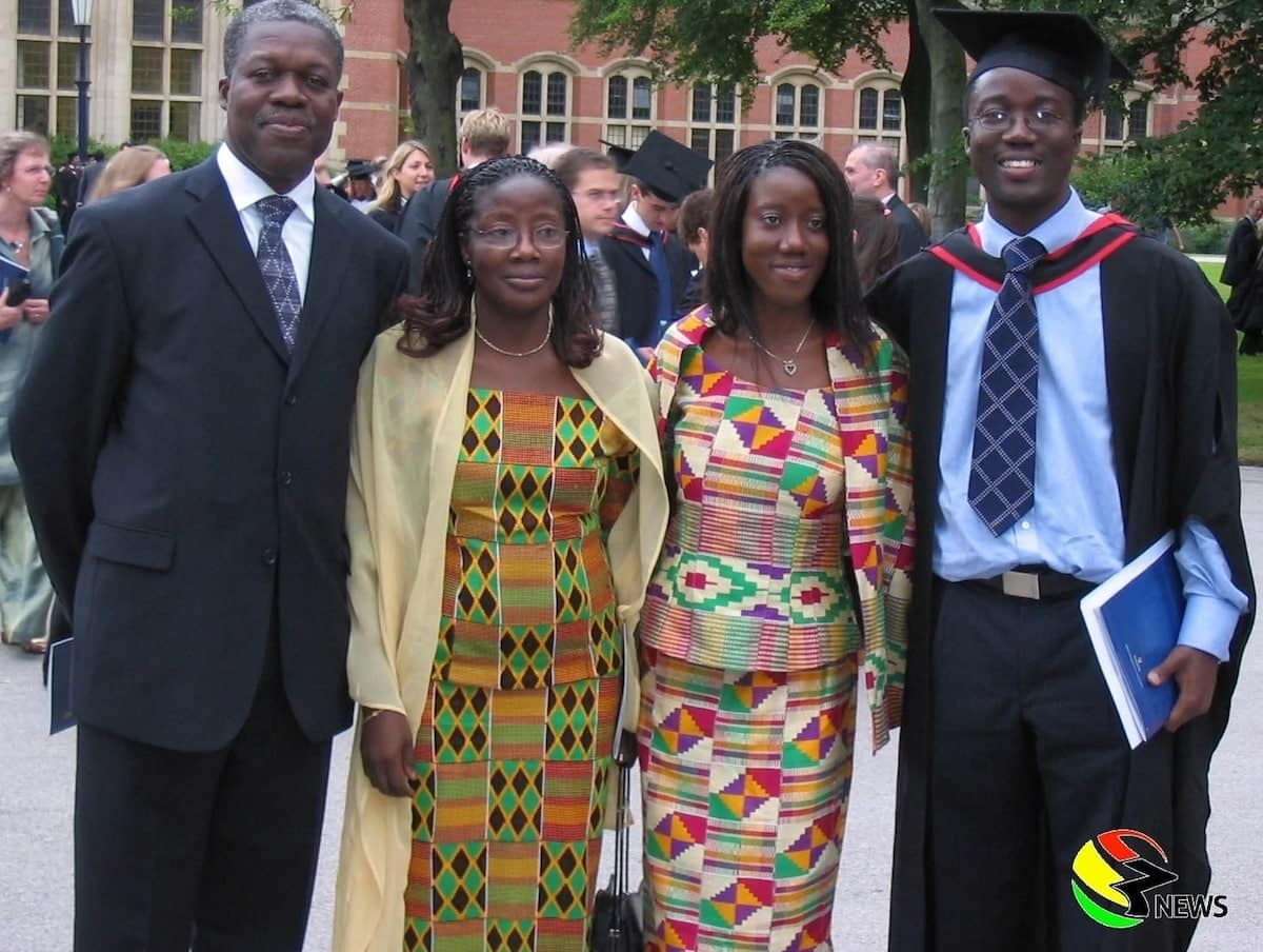 How Amissah-Arthur and his wife Matilda met