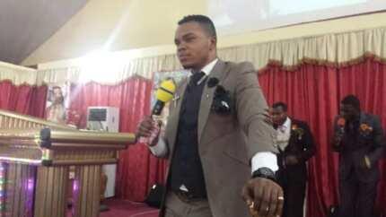 Ghanaians blast Obinim for allegedly 'mocking' Christian faith in latest church video