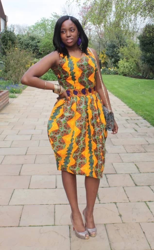 African Kente wedding dresses