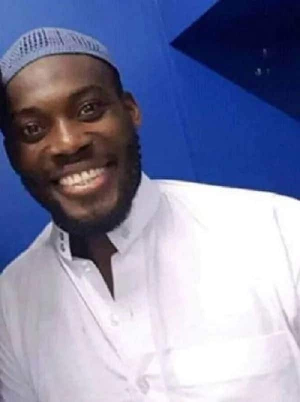Michael Essien causes a stir on social media with his new 'Alhaji' look