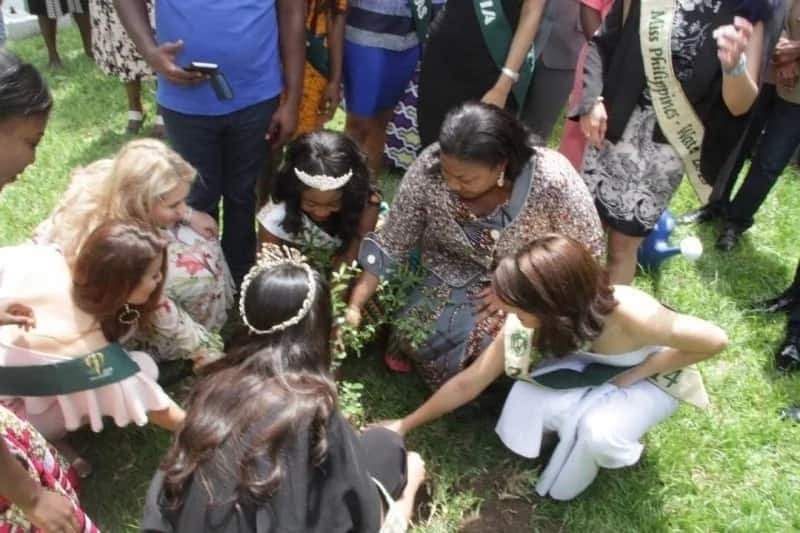 Let's protect the earth - First Lady Mrs. Rebecca Akufo Addo