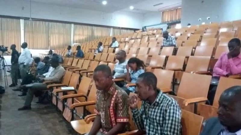 NDC Campus Connect at UCC witness low turnout