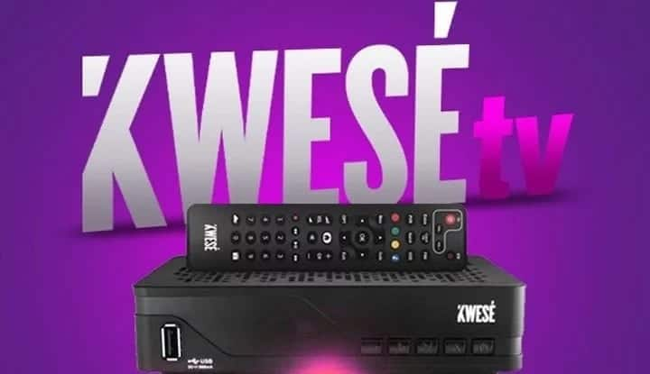 Kwese TV channels, packages and prices in Ghana