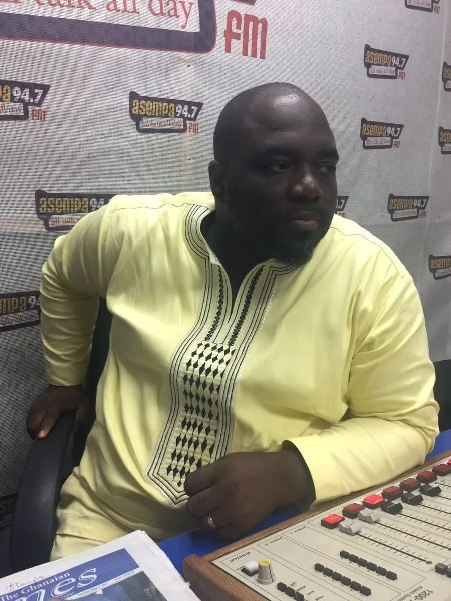 Kaba indicated that his ambition to become a broadcaster was from his early years